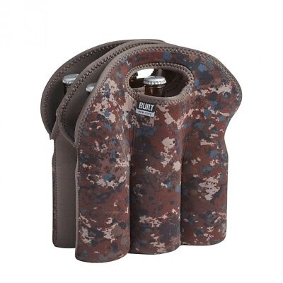 (6-Pack Tote) - BUILT NY Six Pack Tote, Tweed Camo. Huge Saving
