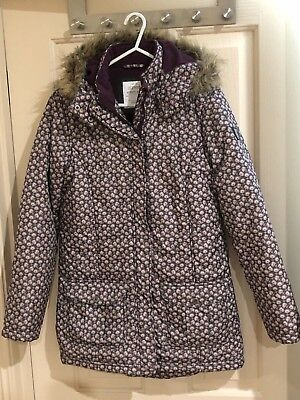 NEW Girl ESPRIT Size 12 Winter Jacket Hood Excellent Quality, RRP$100