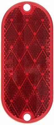 Grote 41032 Stick-On Red Oval Reflector