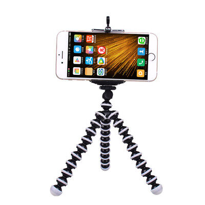 Mini Tripode Pulpo + Soporte Movil Smartphone Universal Ajustable Flexible Araña