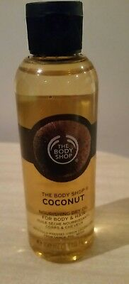 The body shop coconut beautifying oil 100ml