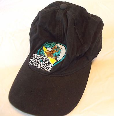 Scooby Doo Hat Ball Cap Boys 8-20 In the Tube Surfing 100% Cotton Adjustable
