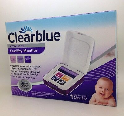 Clearblue Advanced Fertility Monitor With Touch Screen Brand New Costs £119.99