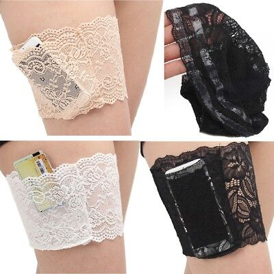Women Lace Socks Anti-Chafing Thigh Pocket Bands Legs Prevent Chafing Non Slip