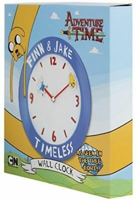 TRADE JOB LOT OF 20 X  NEW Adventure Time Wall Clock, Blue  beat this deal