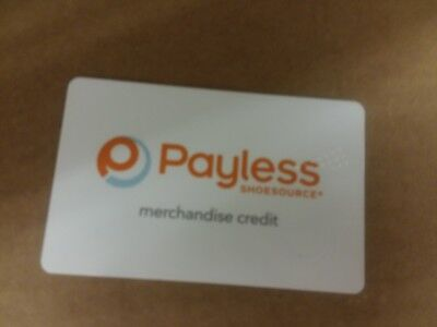 Payless Shoes Gift Card 12 01