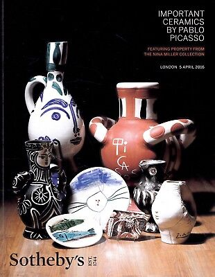 PABLO PICASSO: IMPORTANT CERAMICS - Sotheby's London 16 +results