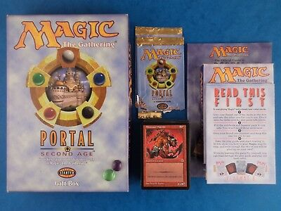 Gift Box - MAGIC THE GATHERING - PORTAL SECOND AGE - Starter Level / Cards Shown