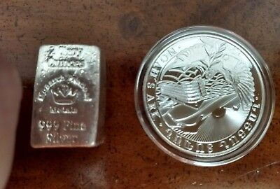 💥Monarch old loaf 2OZ. .999 PURE SILVER and Armenia Nohas Ark 1OZ. .999 PURE 😉