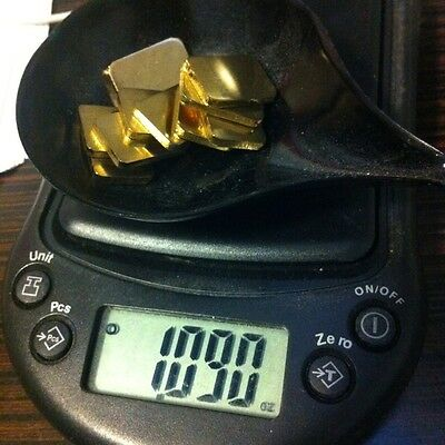 Dental LAB Super 12 Non Precious Gold Alloy ONE1 OUNCE of INGOTS BUY 2 GET EXTRA