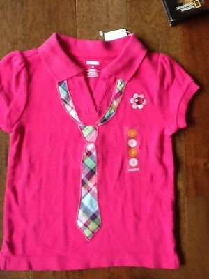 NWT BG gymboree girl 2012 Smart and Sweet  shirt size 3  fall