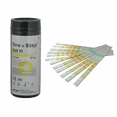 10 Parameter Professional GP Urinalysis Multisticks Urine Strip (100 Test Stick)