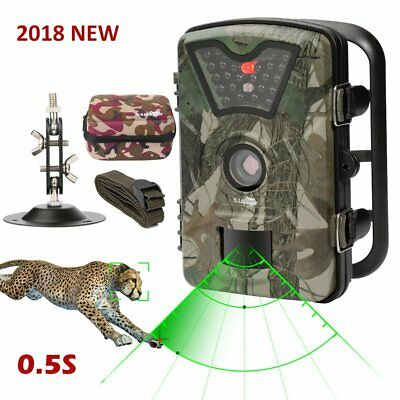 Game Trail Camera 1080P 12MP with Sound Scouting Camera with 2.4in LCD Screen No
