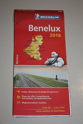 Carte Michelin du Benelux - NEUF -