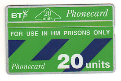 Telefonkarte BT Phonecard No. 262607898 - 20 Units - for use in HM Prisons only
