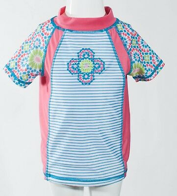 Cabana Beach Embroidered Multi-colored Coverup size 4T