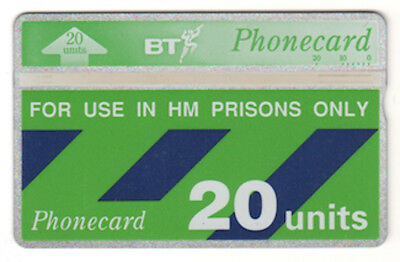 Telefonkarte BT Phonecard No. 248C56926 - 20 Units - for use in HM Prisons only