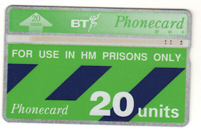 Telefonkarte BT Phonecard No. 282B00524 - 20 Units - for use in HM Prisons only