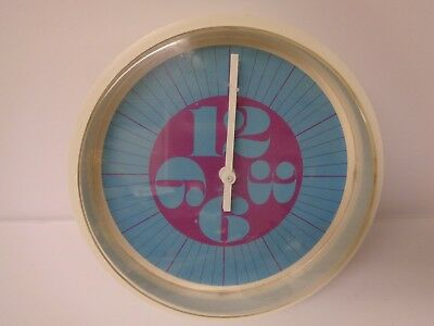 Vintage Mid Century Modern Retro Howard Miller Clock Co Era 1960s Model 924 Rare