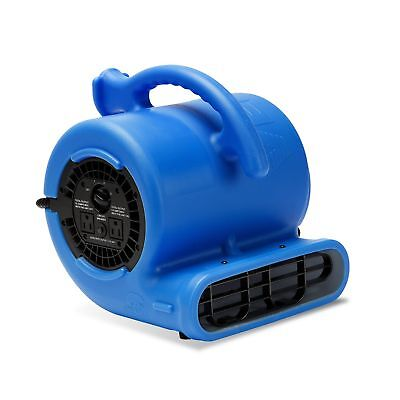 B-Air VP-25 1/4 HP 900 CFM Air Mover for Water Damage Restoration Carpet Dryer