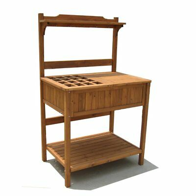 MERRY GARDEN POTTING Bench with Recessed Storage - $132.12 ...