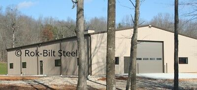 Rok-Bilt Steel Building 100'-0 Wide x 250'-0 Long x 25'-0 Eaves*PRICE REDUCTION*