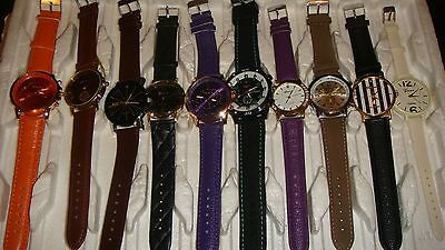 TRADE  JOB LOT OF 10 NEW  X  MIXED WATCHES 100% new and working///,/