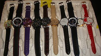 TRADE  JOB LOT OF 10 NEW  X  MIXED WATCHES 100% new and working///,//
