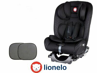 Baby Child Car seat Rear and Forward Facing Sander Black ISOFIX 0-36 kg