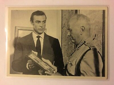 1965 JAMES BOND Secret Agent 007 Scanlens Card #4 Passions Rise