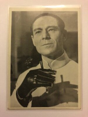 1965 JAMES BOND Secret Agent 007 Scanlens Card #13 Dr Julius No