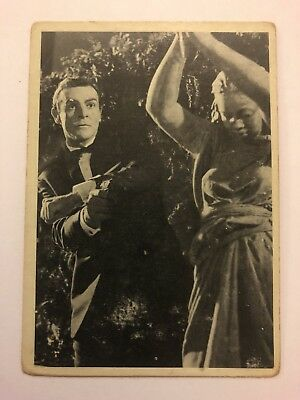 1965 JAMES BOND Secret Agent 007 Scanlens Card #21 Dress Rehearsal Assassination