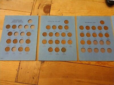 *****vintage 1964 Edition**canadian Small Cent Collection Book**1920-1964 *****