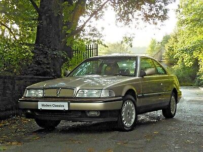 1996 ROVER 800 825i STERLING 2 DOOR COUPE AUTO 1 OWNER FULL SERVICE HISTORY 57K