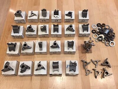 "Lot of 34 1/2"" Shaper Cutters, most graphite ... Very Good Working condition!"