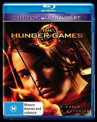 *New & Sealed* The Hunger Games (Blu-ray + Ultraviolet UV Digital 2013) Region B