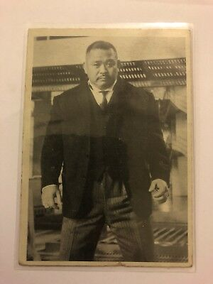 1965 JAMES BOND Secret Agent 007 Scanlens Card #59 Oddjob The Invincible