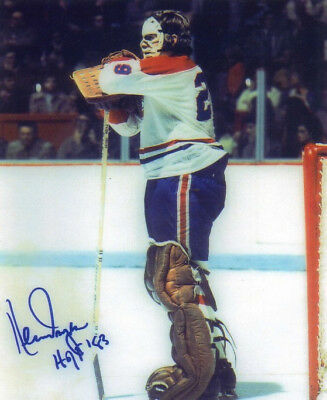 Ken Dryden Signed Photo 8X10 Rp Autographed Montreal Canadiens Hockey
