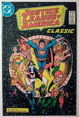Justice League of America 217b NM Classic SO MUCH FUN Variant Promo JLA Giveaway