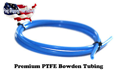 High Temp PTFE Teflon Tubing for 3D Printer, Bowden Hotend 1.75mm, Low Friction