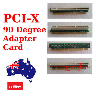 PCI-X 90 Degree Adapter Card | Right Angle Expansion / Riser Card