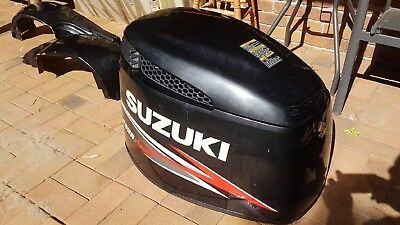 SUZUKI 225 hp 4 STROKE TOP COWLING AND BOTTOM COWLING ELECTRONIC FUEL INJECTION