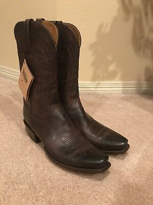 38ad15490ebd1 **New** Lucchese Boots Men's 14 Mad Dog Chocolate Burnished Classics NWT  L1601