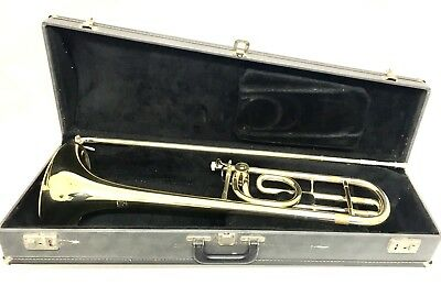 "E.K. Blessing ""Accord"" Trombone with F trigger attachment."