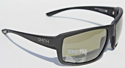 738ef771294 SMITH OPTICS Colson POLARIZED Sunglasses Matte Black Gray Green ChromaPop  NEW