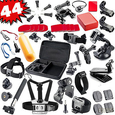 44-in1 Action Camera Accessory Kit Sport Bundle for GoPro HERO 6 5 4 3 2 1 Yi 4K