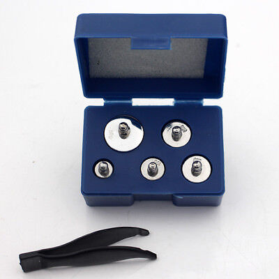 Silver 5g 10g 20g 50g Grams Precision Chrome Weight Scale Calibration Set  UD