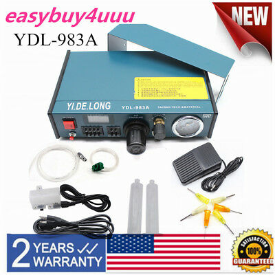 Digital Display Auto Solder Paste Glue Dispenser Dropper Liquid Controller 983A