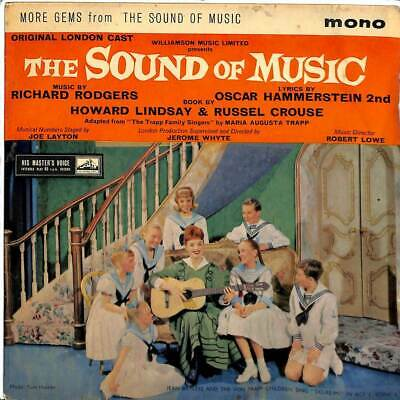 "Rodgers & Hammerstein - The Sound Of Music - 7"" Record Single"
