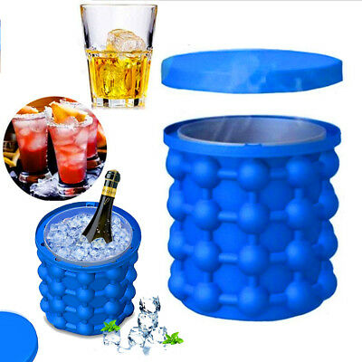 Magic Ice Cube Maker Genie The Revolutionary Space Saving Ice Genie Cube Maker